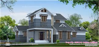 Home Design Exterior Ideas In India by 2 Different 3d Home Elevations Kerala Home Design And 4 Different