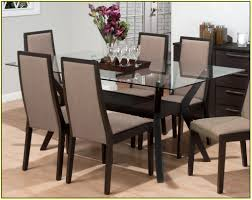 Glass Top Pedestal Dining Room Tables by Dining Tables Rectangular Glass Dining Table Rectangular Glass