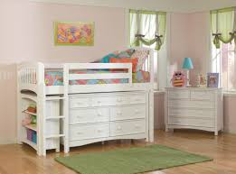 Kids Beds With Storage Underneath Loft Bed With Desk Underneath And Storage