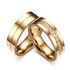 wedding rings prices images Hot sale gold color wedding rings for men women cz couple ring jpg
