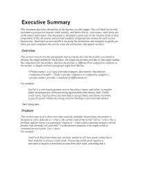 executive summary resume exles executive summary resume exle easy sles of executive summary