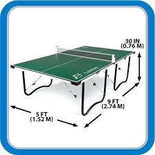 collapsible table tennis table what are the dimensions of a ping pong table remarkable folding