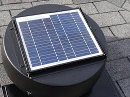 installing a solar attic fan rocky hill studio