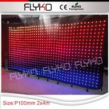 Curtain Led Display Aliexpress Com Buy Free Shipping Flexible Led Strip Curtain
