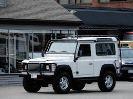 original land rover defender 1995 land rover defender 90 station wagon 79 500 copley motorcars