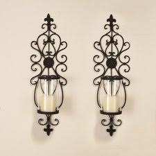 Iron Wall Sconce Candle Wall Sconce Roselawnlutheran