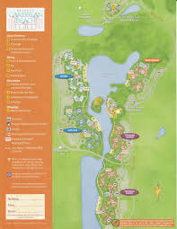 The Villages Florida Map by The Villages Of Disney U0027s Caribbean Beach Resort Yourfirstvisit Net