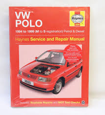 new haynes workshop manual 3500 vw polo 1994 to 1999 m s reg