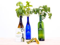 wine bottles turn your empty wine bottles into an adorable herb garden food