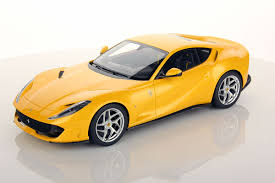 ferrari yellow car 1 18 ferrari mr collection models