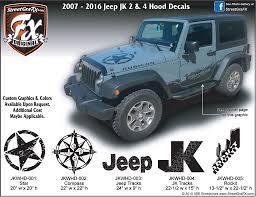 jeep grill decal jeep wrangler jk u2013 streetgrafx