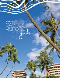uh manoa visitors guide 2016 2017 by office of admissions