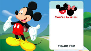 baby mickey invitations mickey mouse clubhouse birthday invitations amazing invitation
