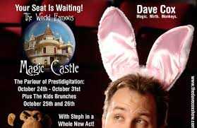 so you u0027re coming to the magic castle