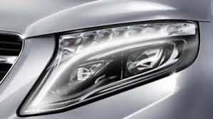 led intelligent light system genuine mercedes v class w447 headlight led intelligent light