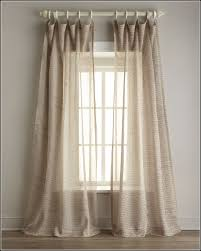 Embroidered Linen Curtains Tie Top Curtains Parker 108l Tietop Velvet Curtain 700 Liked On