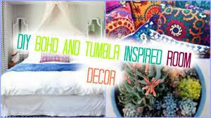 Diy Boho Inspired Room Decor For Summer Youtube
