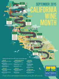 California Wine Country Map California Wine Poster Krystal Lauk