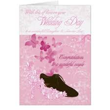 wedding day congratulations in wedding day congratulations card zazzle
