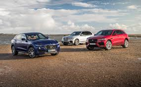 jaguar f pace maserati levante vs jaguar f pace vs bmw x5 2017 review by car