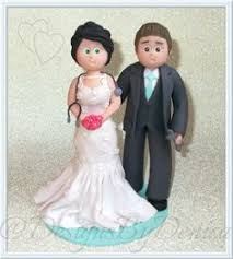 handmade wedding cake topper bespoke personalised family wedding