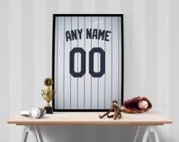 New York Yankees Home Decor by Yankees Nursery Etsy