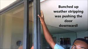 Patio Door Weatherstripping Sliding Door Weather Stripping Kapan Date