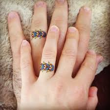 matching couple finger tattoo creativefan