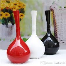 Cheap Vases For Sale Modern Ball Shape With Wood Frame Ceramic Vase For Home Decor