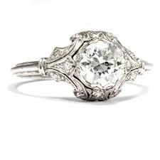 verlobungsring platin diamant wow 1 07 ct altschliff diamant ring déco 950 platin ring