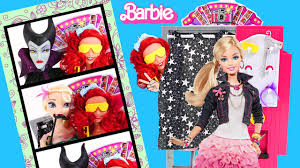 Barbie Photo Booth Photo Booth Barbie And Disney Princess Ariel Maleficent Sister