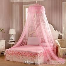 Lace Bed Canopy Elgant Lace Mosquito Net Solid White Mosquito Net Bed Light