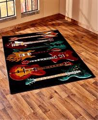 music themed area rugs