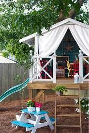 Kids Backyard Play by Best 25 Backyard Playhouse Ideas On Pinterest Kids Clubhouse