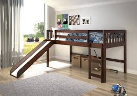 Loft Beds For Kids With Slide Viv Rae Maribel Mission Twin Low Loft Bed U0026 Reviews Wayfair