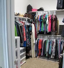 a little closet organization operation home