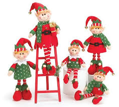 elf christmas decorations raz 20 fun express deluxe plush