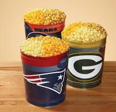 favorite nfl team popcorn tin