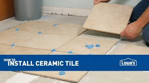 flooring how to install porcelain amp ceramic tile floors floating