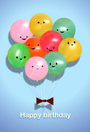 happy balloons free printable birthday card greetings island