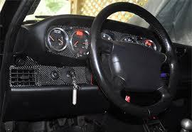 porsche 911 dashboard 1989 1998 porsche 911 993 real carbon fiber dash trim kit