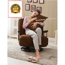 Foldable Sofa New Multipurpose Foldable Folding Single Spinning Chair Sofa Couch