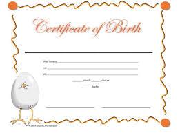 15 birth certificate templates word u0026 pdf template lab