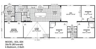 double wide floorplans mccants mobile homes model sol504 model fac28564a