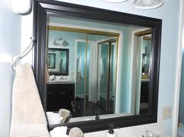 the black u0027s best how to frame a bathroom mirror