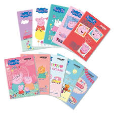 orions peppa pig writing notebook 10