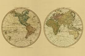 Eastern World Map by New World Or Hemisphere Eastern Old World Or Hemisphere With