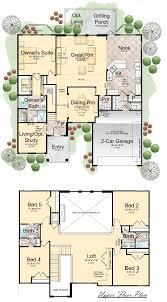 2 story 5 bedroom house plans baby nursery 5 bedroom floorplans brilliant bedroom floor plans