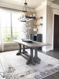 Farmhouse Table by Diy Industrial Corbel Farmhouse Table Shanty 2 Chic