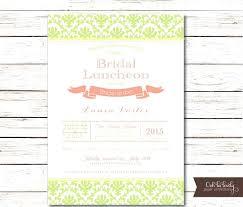 invitations for bridal luncheon bridal luncheon invitations ryanbradley co